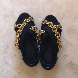 Burberry Chain Sandals